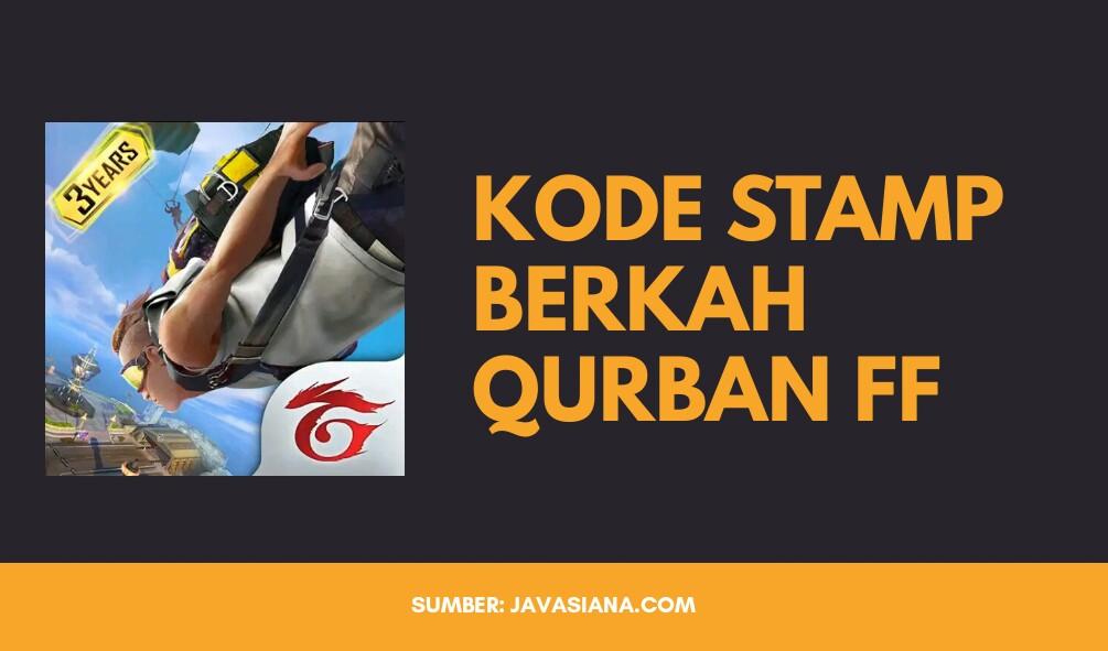 Kode Stamp Berkah Qurban FF