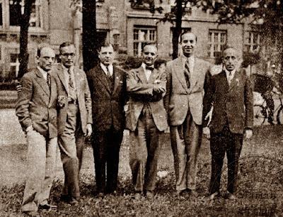 Equipo de Rumanía en la III Olimpiada de Ajedrez de Hamburgo 1930