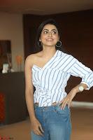Avantika Mishra in One Shoulder Crop Top and Denim Jeggings ~  Exclusive 009.JPG