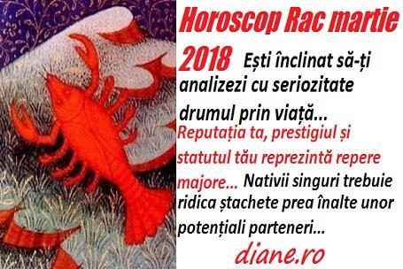 Horoscop martie 2018 Rac