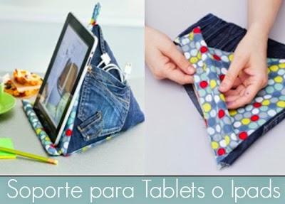 Como hacer un Soporte para Tablets o Ipads
