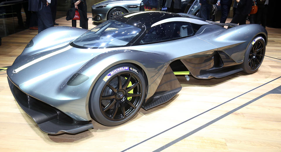 New Aston Martin Valkyrie Scares Off All Other Hypercars In Geneva