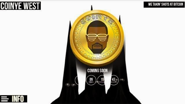 After Dogecoin, the cryptocurrency based on a meme, meet the new kid on the block : Coinye West