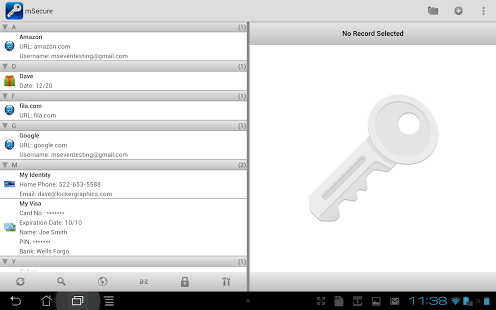 mSecure Password Manager Android APK