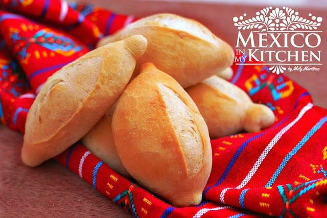 Mexican bolillo recipe pan frances