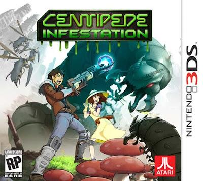 Centipede Infestation CIA 3DS USA