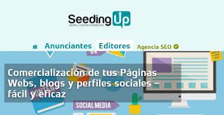 SeedingUp - Ganar dinero blogs y redes sociales