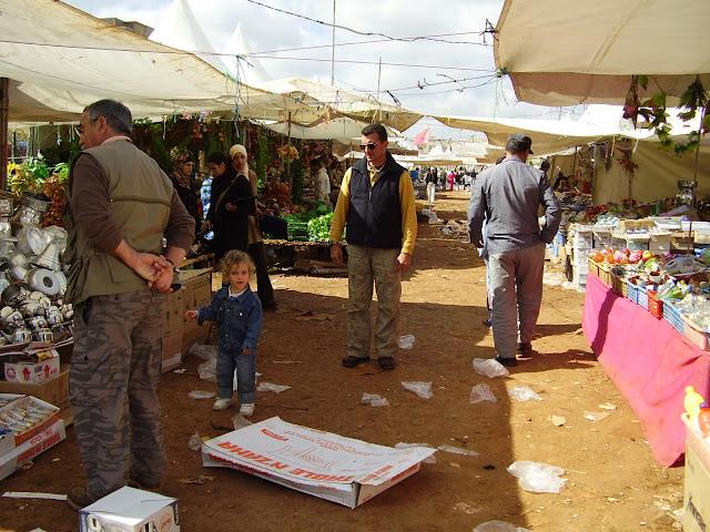 Gran Mercado durante el Mulud en Meknes