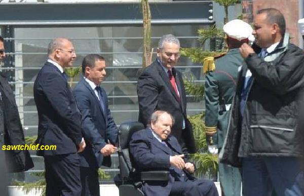 الرئيس بوتفليقة ينزل للشارع ويدشن مشاريع حيوية