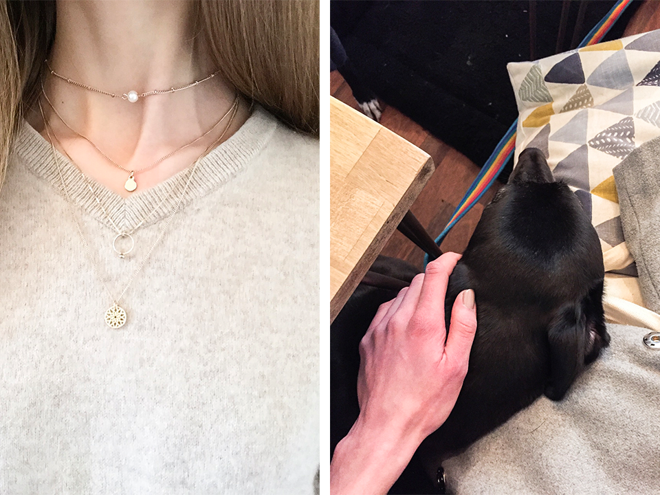 layered-necklaces-fashion-trends-dog-friendly-coffee-shop-glasgow-short-long-black