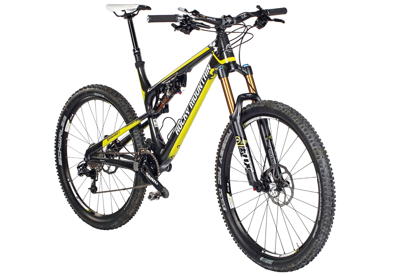 All Arround Mountain Bike: Rocky Mountain Altitude 770 MSL