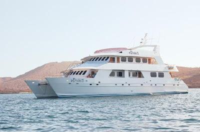 Galápagos Yates de lujo Yate Catamarán Athala