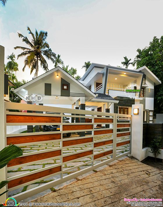Finished contemporary home in Kerala