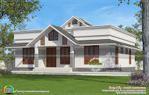 1330 Square Feet Small House Plan - Kerala Home Design And