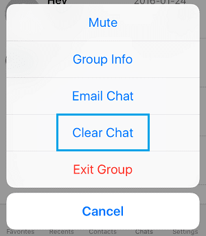 Leave WhatsApp Group Without Notification