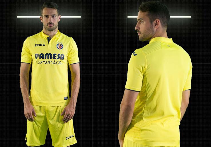 43687aa06 This is the Joma Villarreal 2017-2018 home shirt.