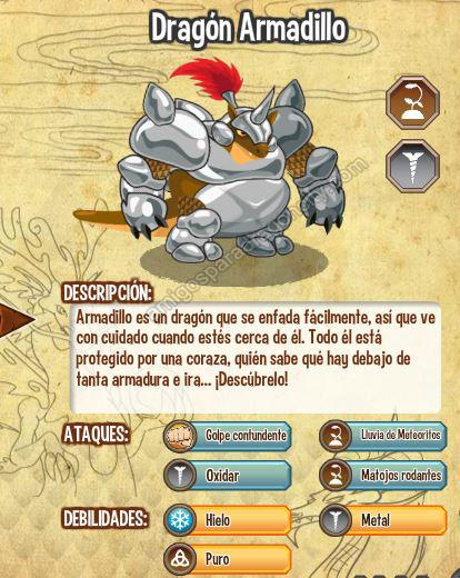 imagen del dragon armadillo