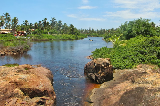 Rio Imbassaí, na Bahia