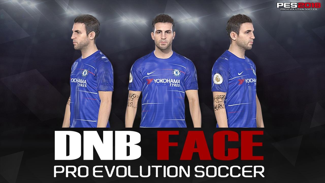 PES 2018 Fabregas Face by DNB FACE