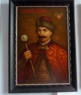 Руда. Музей Івана Виговського. Прижиттєвий портрет гетьмана. Автор невідомий