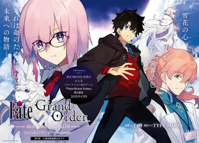Fate/Grand Order -mortallis:stella-