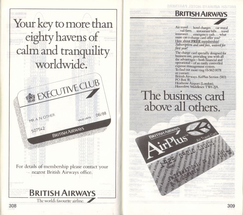 Delighted British Airways Business Card Photos - Business Card ...