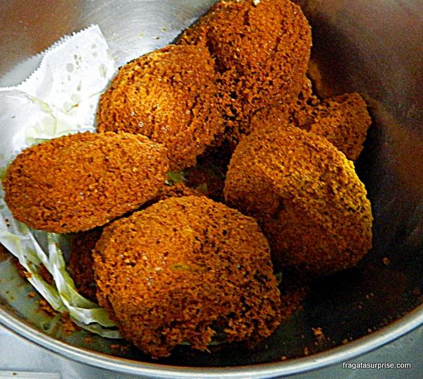 Acarajé, comida típica de Salvador