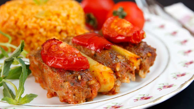 Baked Meatballs with Rice Recipe