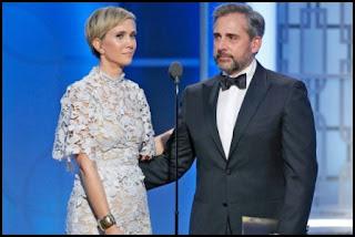 Globos de Oro 2017 - Steve Carell y Kristen Wiig se ganaron al público
