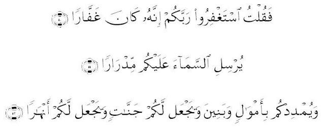 ayat tentang rezeki berlimpah