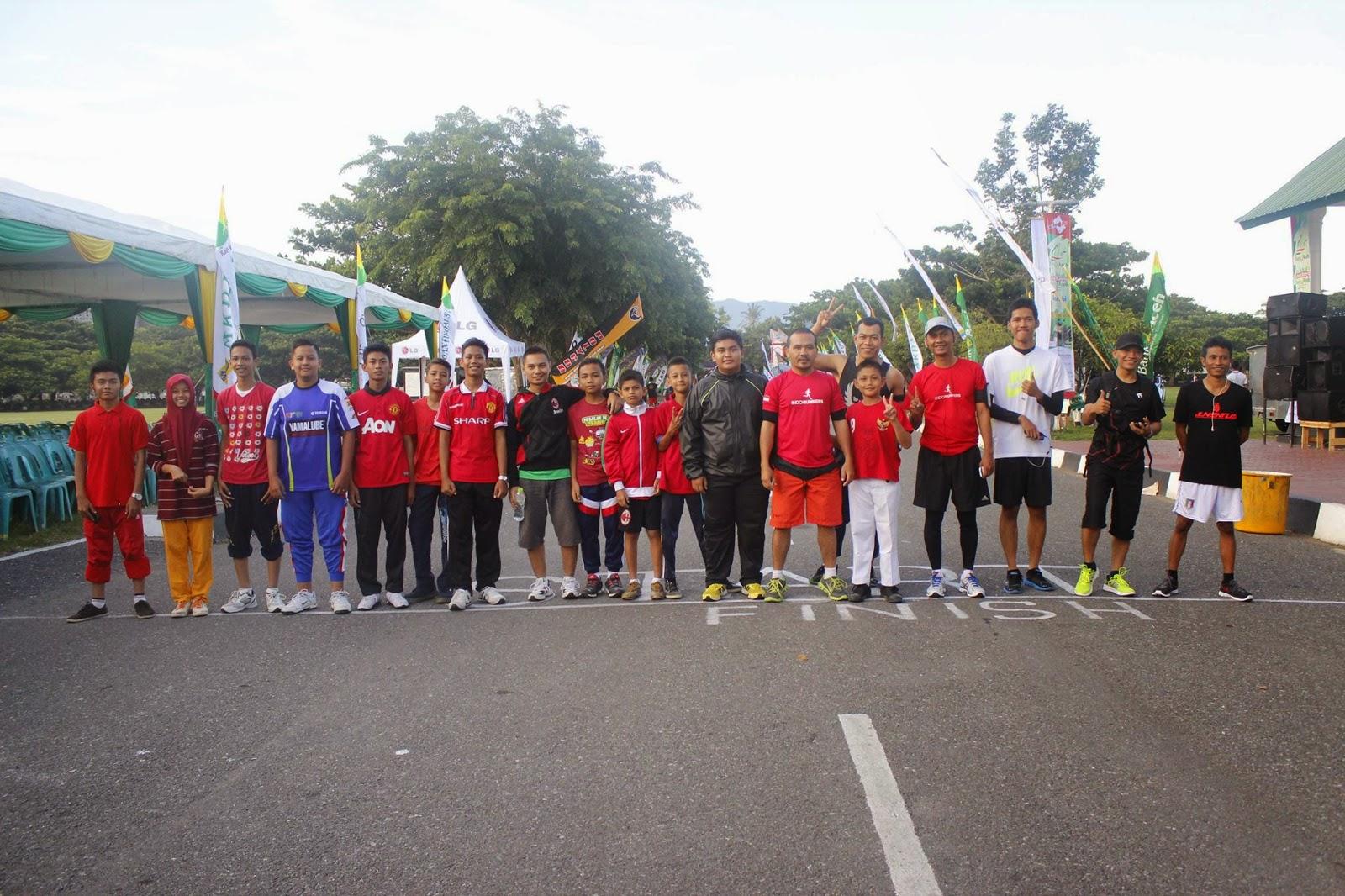 Tim #iuRun Banda Aceh