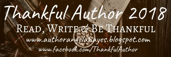 Are you a #ThankfulAuthor