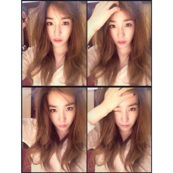 Tiffany SNSD Upload Foto Dengan Rambut Berantakan