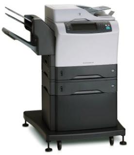HP LaserJet M4345 Multifunction Télécharger Pilote