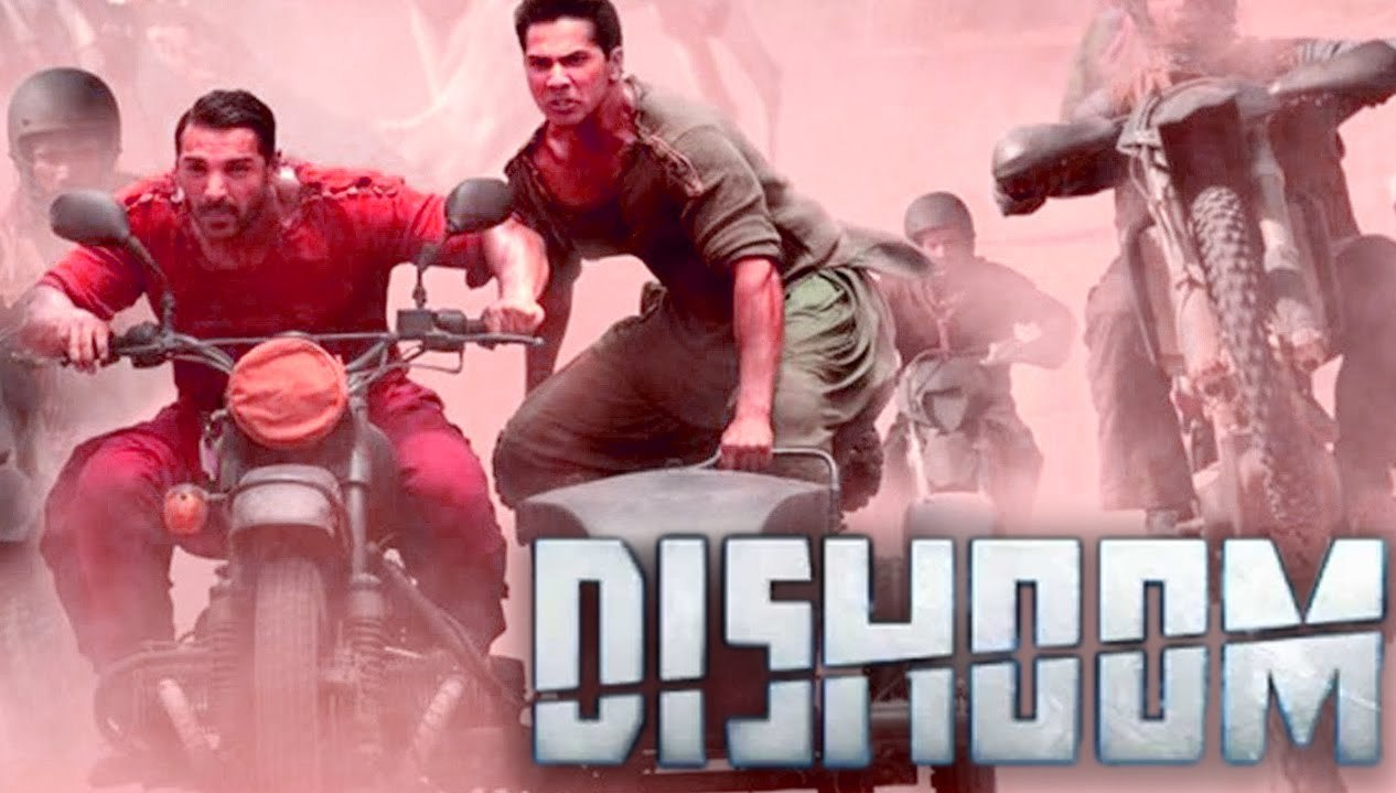 Complete cast and crew of Dishoom  (2016) bollywood hindi movie wiki, poster, Trailer, music list - John Abraham, Varun Dhawan and Jacqueline Fernandez, Movie release date 29 July, 2016