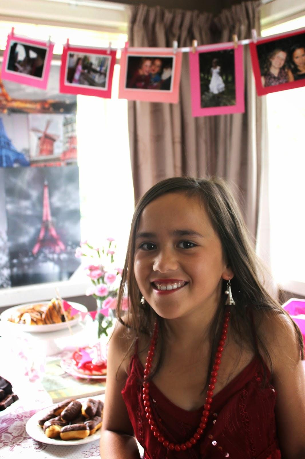 Kids Parties Miss B S Paris Themed 10th Birthday