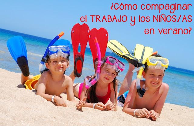 con quién dejar a los niños en verano horarios niños verano blog mimuselina