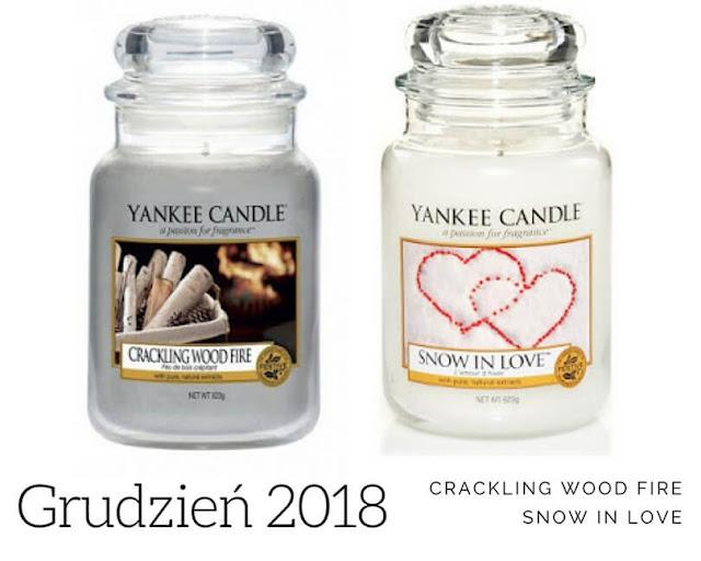 zapach miesiąca yankee candle grudzień 2018