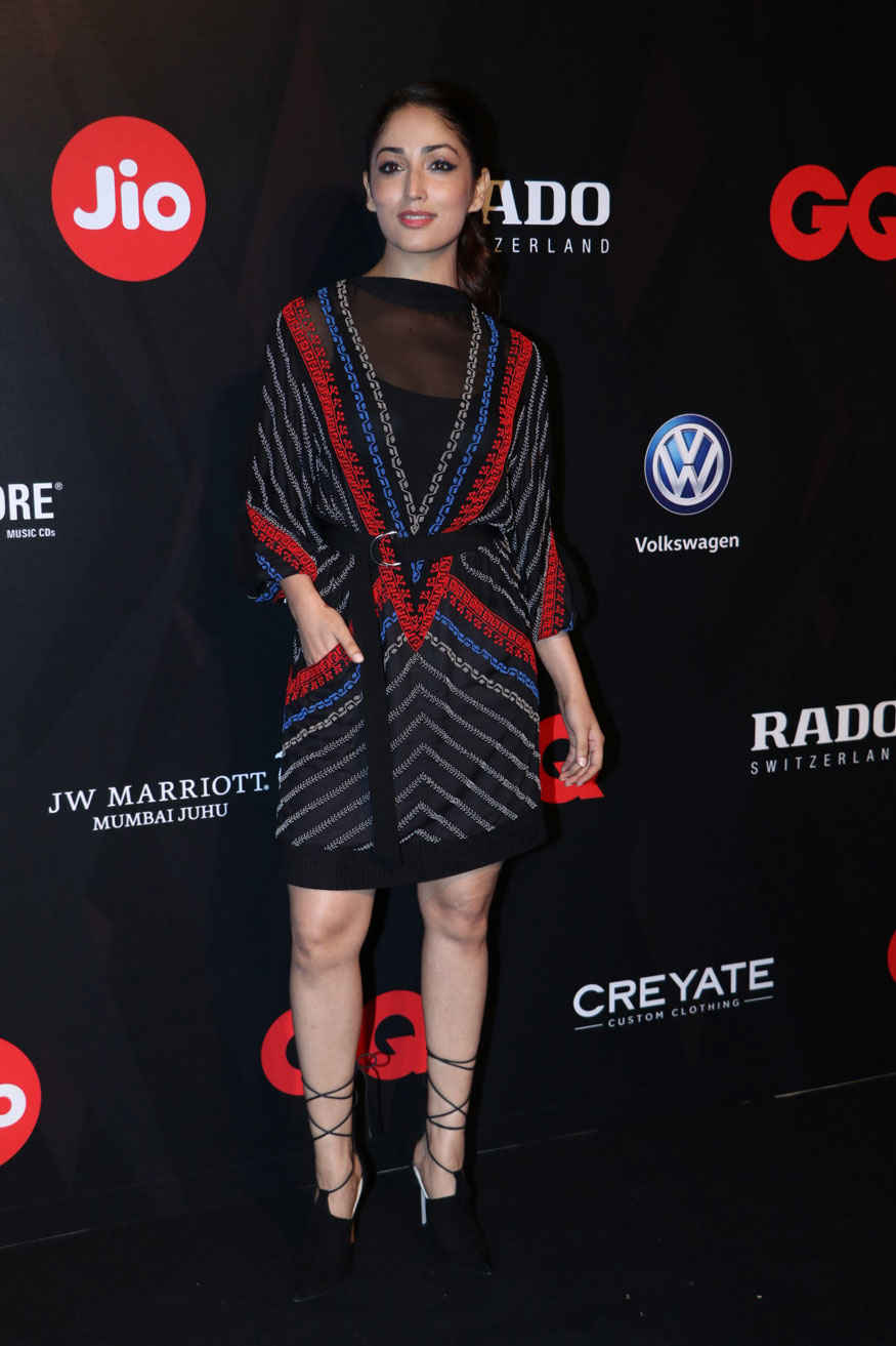 Yami Gautam Attends The GQ Best Dressed Awards Event
