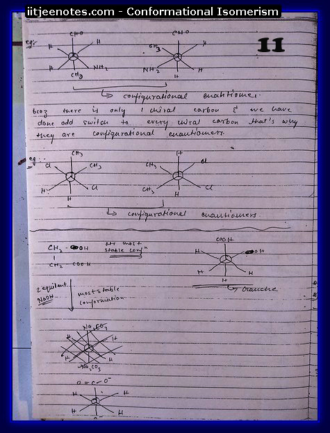 Conformational Isomerism Notes1