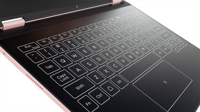The Yoga Book and its keyboard of the future have a more affordable version in the Lenovo Yoga A12, only with Android