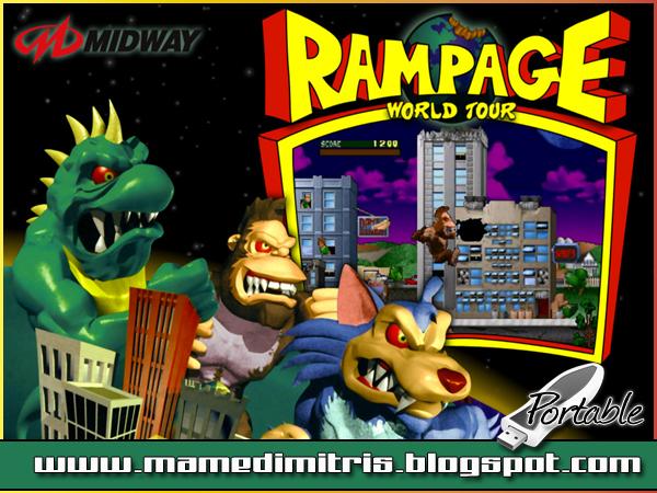 rampage world tour mame rom