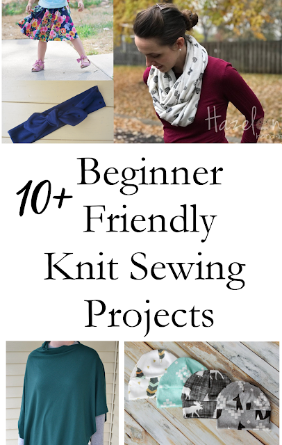 10+ beginner friendly knit sewing projects