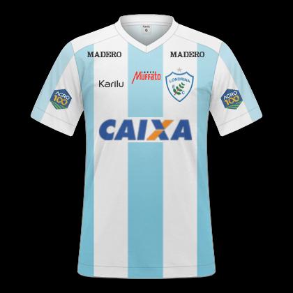 GT Camisas  Camisas Londrina 2018 - Home 4170a1f32b450