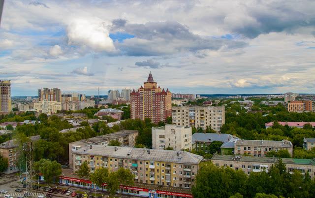 Фото с колеса обозрения Пермь