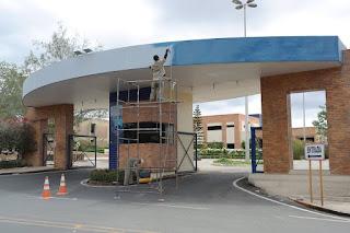 Prefeitura Universitária dá prosseguimento aos serviços de pintura e revitalização do Campus Cuité da UFCG