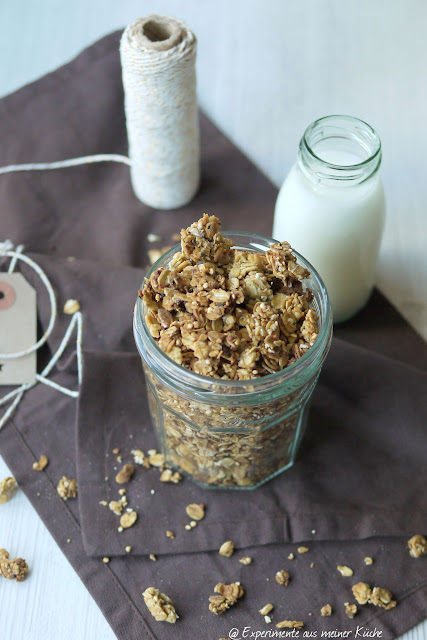 Experimente aus meiner Küche: Quinoa-Knuspermüsli
