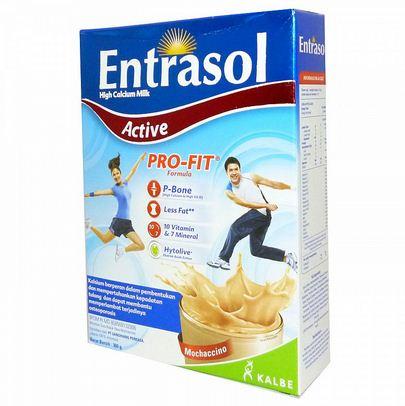 komposisi entrasol active, entrasol active susu tinggi kalsium