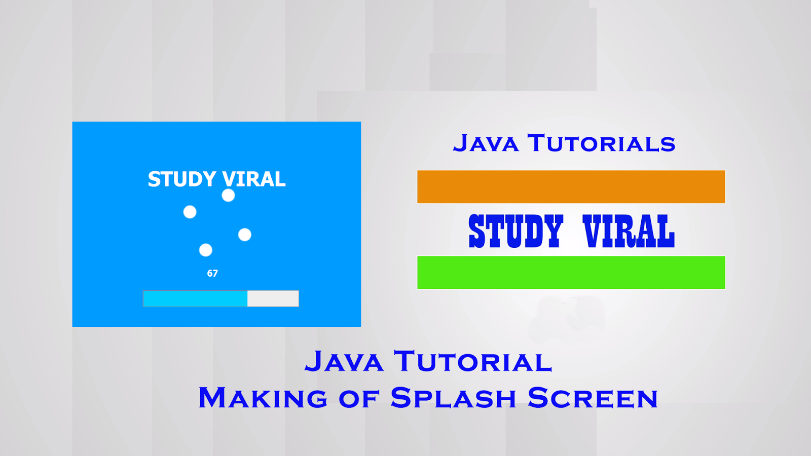 Swings in java tutorial images any tutorial examples java swing tutorial create animated splash screen study viral java swing tutorial create animated splash screen baditri Images