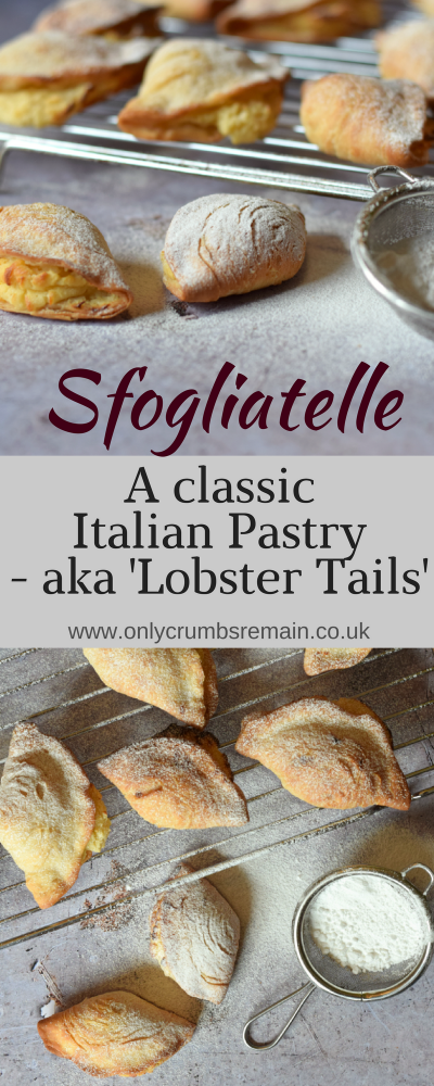 How to make sfogliatelle, also known as Lobster Tails, at home with a delicious ricotta filling flavoured with orange zest & cinnamon